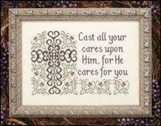 Cast All Your Cares
