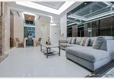 惠來上景_現代風設計個案—100裝潢網 Decor, Couch, Furniture, Mirror Interior Design, Interior Design, Home Decor