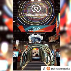 The last day of IAAPA Attractions Expo will begin soon. When you enter Orange County Convention Center don't be afraid to walk through this path, our Traffic Lights are always green for you at Polin Waterparks' booth. Florida Usa, Orlando Florida, Traffic Light, Sound Effects, Water Slides, Convention Centre, Roller Coaster, Orange County, Fashion Prints