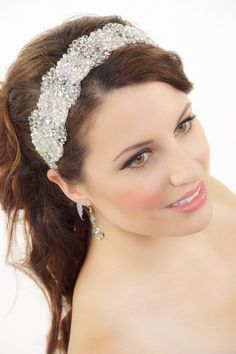 Bridal Headband, Rhinestone headband, Gatsby Art Deco Bridal Headband, Crystal Hair piece, Wedding Headband, Tiara, Bridal Hair Accessories on Etsy, $139.99