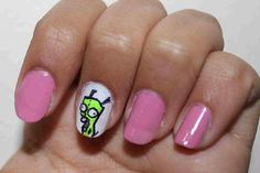 A bunch of awesome nerdy nail designs Top To Toe, Smosh, Elegant Nails, Mani Pedi, Fun Nails, Nerdy, Nail Designs, Nail Polish, Make Up