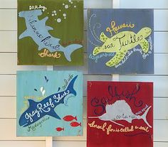 DIY plaques like those from pottery barn