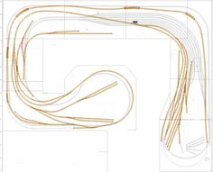 User Layouts Gallery Model Railway Track Plans, Model Train Layouts, Model Trains, Diorama, Railroad Tracks, Shelf, Hobbies, Miniatures, How To Plan