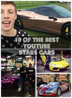 10 of the Best YouTube Stars Cars. You won't believe ho wmuch these guys earn... #spon #YouTube