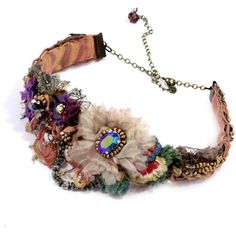 Krista R Muse, embroidered choker necklace with antique lac (€120) ❤ liked on Polyvore featuring jewelry, necklaces, accessories, chokers, white pearl necklace, choker necklace, antique jewellery, pearl necklace and vintage jewelry