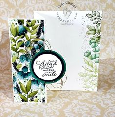 Home - Stamp Patty's Pop Up Karten, Karten Diy, Fun Fold Cards, Folded Cards, Forever Green, Handmade Stamps, Handmade Bookmarks, Stamping Up Cards, Rubber Stamping