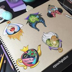 """185 Likes, 47 Comments - @peachytattoo on Instagram: """"One spot left for my Disney hearts page. What to do?!?!????!!!!! #disneylove #disney #disneyart…"""""""