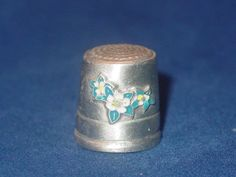 RP: Pewter Souvenir Thimble from Denver | eBay.com