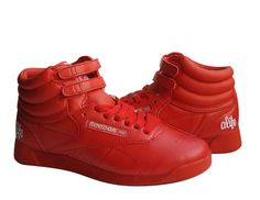 I had these 80s red Reeboks.