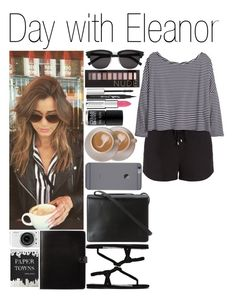 """• Day with Eleanor"" by dianasf ❤ liked on Polyvore featuring Splendid, H&M, Acne Studios, BCBGMAXAZRIA, Nails Inc., Yves Saint Laurent, Blinc, Maybelline, Givenchy and Forever 21"