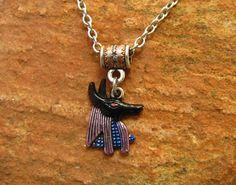 Anubis Necklace Greyhound Whippet Galgo by GreyhoundCleyhounds