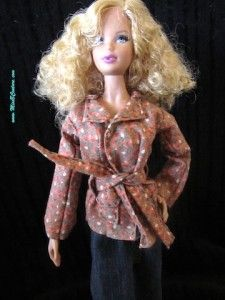 Free patterns for Barbie, Ken, and American Girl dolls.
