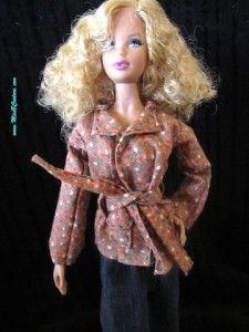 Miss B. Couture | Free Barbie doll clothes patterns ———- Patrons de vêtements de Barbie gratuits