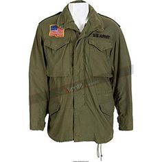 Us Army Jacket, Bomber Jacket, M65 Jacket, Motorcycle Jacket, John Rambo, Silvester Stallone, Green Trench Coat, First Blood, Revival Clothing