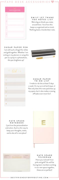 Stylish Everyday Office Essentials | Best Friends For Frosting