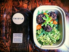 Thistle - $10 meal and $5 cold pressed juice with free delivery in 30-40 min
