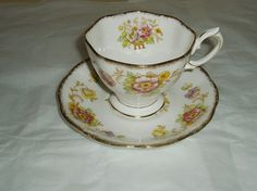 Vintage Royal Albert china vintage teacup and by DivaDecades