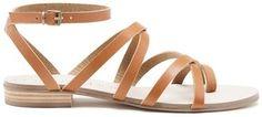 Shop Now - >  https://api.shopstyle.com/action/apiVisitRetailer?id=655200101&pid=uid6996-25233114-59 Koko Strappy Flat Sandal  ...