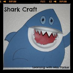 Shark Books for Preschool | Go to PicMonkey to edit your photos for free.