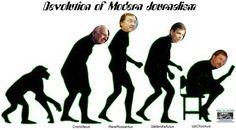 DEVOLUTION of Modern Journalism posterpalooza.info/crooked-media #hillarysemails Carmine Zozzora DEPLORABLee Jackson Trump New Media Wayne Dupree
