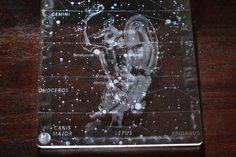laser engraving See through star map,acrylic laser engraver
