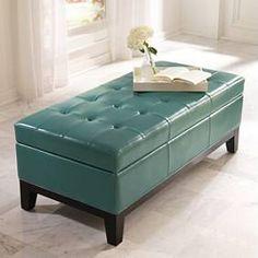 Lauren Storage Ottoman in Mallard, $299.  http://www.grandinroad.com/benches-ottomans-and-stools/27146?redirect=y