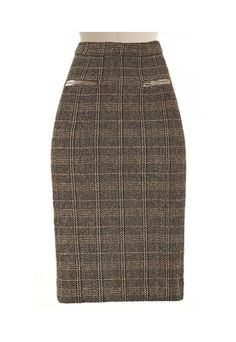 Tailored Pencil Skirt made to measure. Make, buy, sell - custom fit fashion - Stanfordrow.com