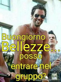 Immagini Buongiorno da Scaricare Gratis - ImmaginiBuongiorno.biz Lyrics Website, Italian Memes, Good Morning, Sexy Men, Funny, Gnocchi, Sicily, Tweety, Mom
