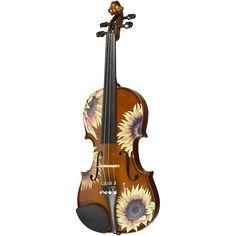 Violin Art, Violin Music, Piano Sheet Music, Music Chords, All Music Instruments, Renaissance Music, Sunflower Design, Music Gifts, Vintage Crafts