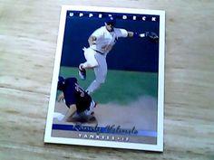 upper deck 1993 randy velarde card 93 yankees