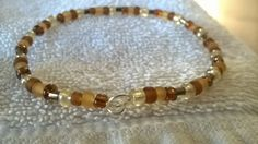 Autumn Color beaded bracelet