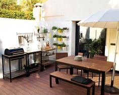 Comedores en el jardín (o en la terraza)