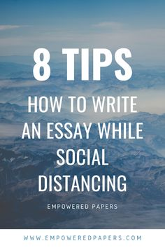 how to write an essay while social distancing ★·.·´¯`·.·★ follow @motivation2study for daily inspiration