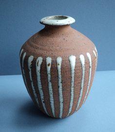 """Vivika & Otto Heino Studio Pottery Vase - 7"""" Tall"""