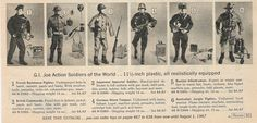 gi joe soldiers of the world - Google Search