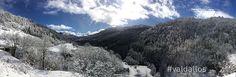 #neige poudreuse du matin au #valdallos www.valdallos.com photo office de tourisme du Val d'Allos