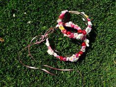 wedding floral headbands mom & little lady
