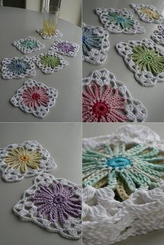 coasters-but I think they are too pretty just to stick a drink on!