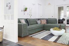 Onze Spazio bank uitgevoerd in villa groen | basiclabel.nl