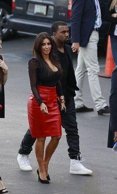 Kanye West wearing the Balenciaga Cambure White/White