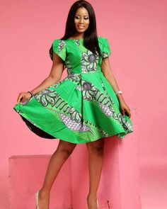 CREATIVE AND CUTE ANKARA FLARE GOWNS, Ankara styles Fashion Trends, Short Gowns.check out these latest african fashion trends we have lined up for you today. They look classic and absolutely gorgeous. Latest Ankara Short Gown, Ankara Short Gown Styles, Short Gowns, Ankara Gowns, Latest African Fashion Dresses, African Inspired Fashion, African Dresses For Women, African Print Dresses, African Print Fashion