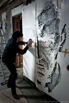 jeff aerosol | JEF AEROSOL - Les Bains - Résidence d'Artistes