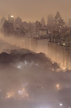 NYC Fog love the Fog!