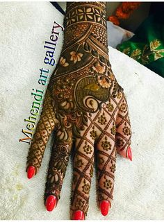 If you are looking for a bridal mehndi design for your wedding, then check out these top 30 mehndi images for some inspiration. All types of mehndi in Chhindwara design is a busy task that every bride has to do before her wedding. Wedding Mehndi Designs, Unique Mehndi Designs, Beautiful Mehndi Design, Latest Mehndi Designs, Mehndi Designs For Hands, Henna Tattoo Designs, Unique Henna, Henna Tattoos, Tatoos