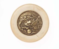 Kagami netsuke with design of dragon and jewel Eco Furniture, Top Furniture Stores, Classic Furniture, Knife Drawing, Japan Logo, Carpet Installation, Japanese Porcelain, Fantasy Miniatures, Museum Of Fine Arts
