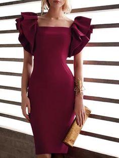 best selling dresses - Shop Affordable Designer best selling dresses for Women online Elegant Midi Dresses, Elegant Dresses For Women, Party Dresses For Women, Formal Dresses, Cape Sleeve Dress, Sleeve Dresses, Maxi Dresses, Evening Dresses, Valentines Day Dresses