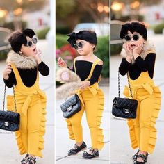 Kids Baby Girl Ruffle Bib Pants Romper Jumpsuit Overalls Outfits Clothes Toddler Kids Baby Girl Ruffle Bib Pants Romper Jumpsuit Overalls Outfi – Straight Out the Playground African Dresses For Kids, Dresses Kids Girl, Little Girl Outfits, Kids Outfits Girls, Little Girl Fashion, Toddler Girl Outfits, Baby Outfits, Baby Dresses, Cute Kids Fashion