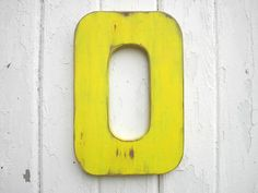 Shabby Chic Letter O Wedding Nursery Kids Room by LettersofWood, $25.00