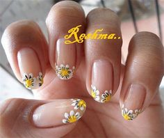you should stay updated with latest nail art designs nail colors acrylic nails Spring Nail Art, Spring Nails, Summer Nails, Fancy Nails, Trendy Nails, Cute Nails, Hair And Nails, My Nails, Oval Nails