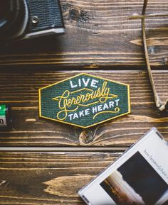 Take Heart Apparel Co. | Live Generously Patch